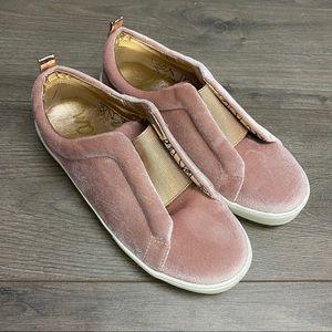 Sam Edelman   Bella Emma Blush Velour Sneakers 7